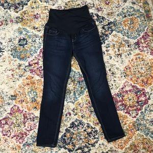 Old Navy Maternity Dark Wash Skinny Jeans